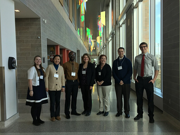 Kettering faculty and students at a conference.