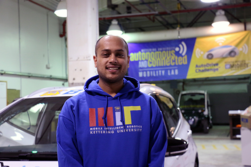 International grad student travels from India to Kettering University to make dreams a reality