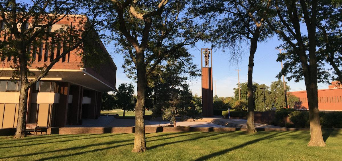 Summertime on Kettering University's campus