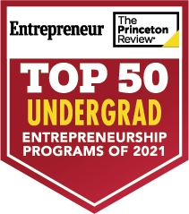 Kettering University is in the Princeton Review's Top 50 Undergraduate Entreneurship Programs for 2021.