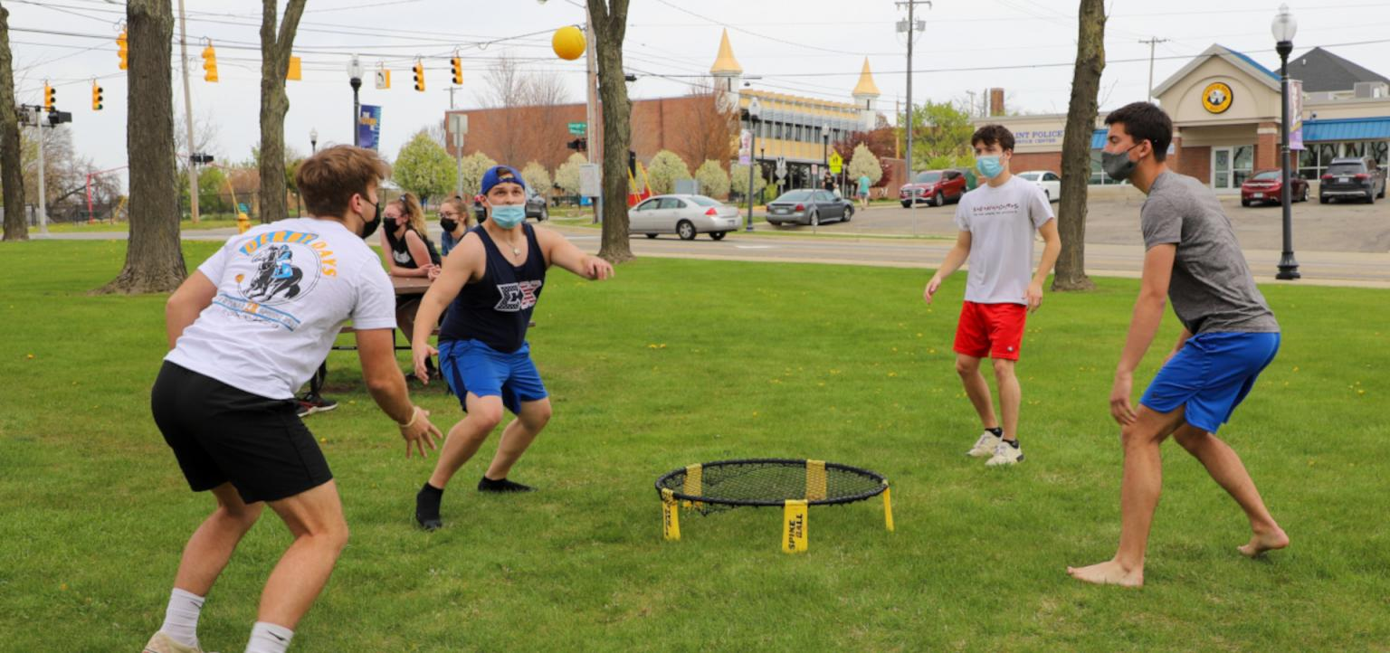 Sigma Chi Fraternity at outdoor event