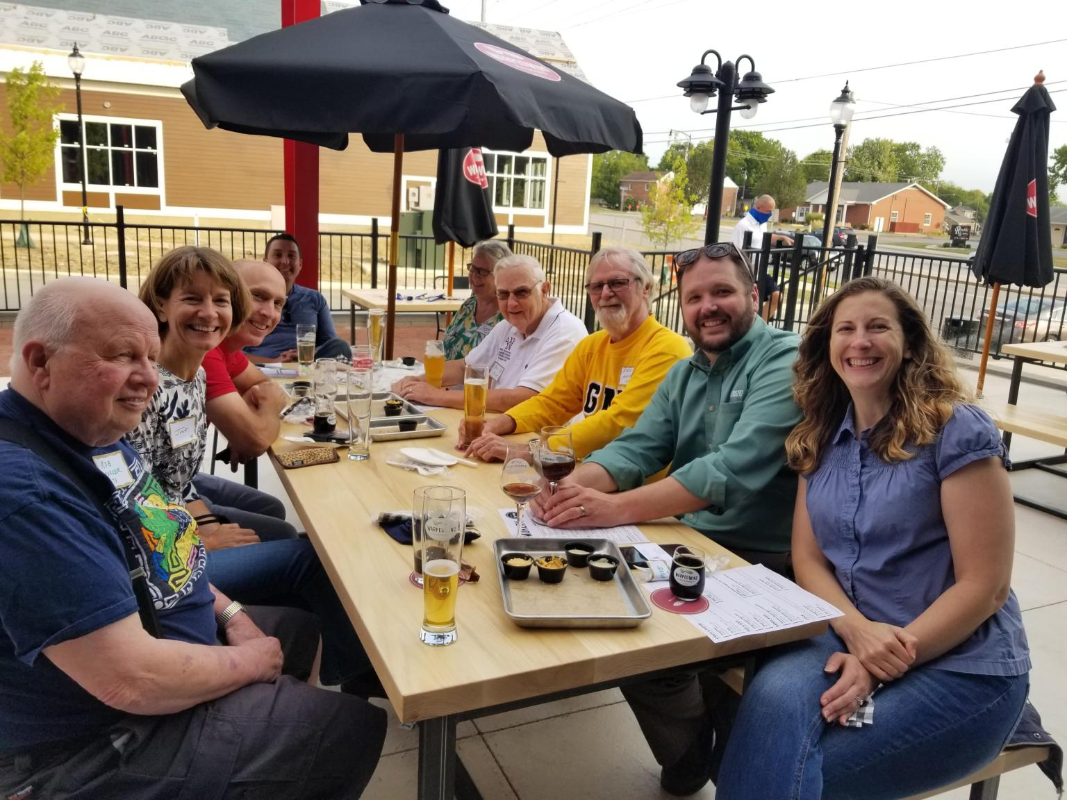 Alumni Connections Week 2020 - Springboro Warped Wing Brewery